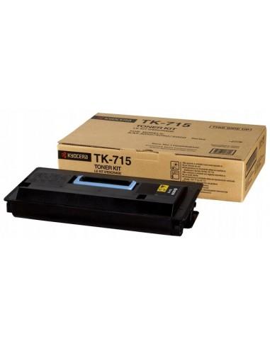 Oryginalny toner Kyocera TK-715 Black KM-3050, 4050, 5050