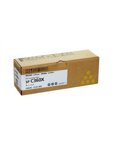 Oryginalny żółty toner RICOH (408253) SPC361 SFNw