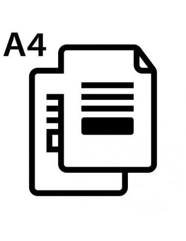 Druk dokumentów A4